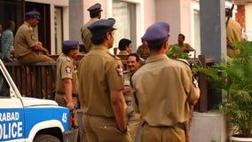 印地安警察补充中心海得拉巴 股票视频