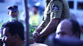 印地安警察补充中心海得拉巴 股票录像