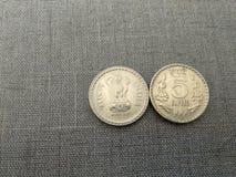 印地安货币卢比 免版税库存照片