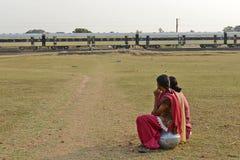 印地安路轨 免版税库存图片