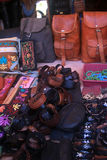 印地安跳蚤市场 免版税图库摄影