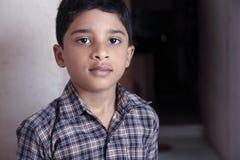 印地安逗人喜爱的男孩 免版税库存照片