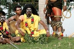 印地安部族舞蹈家 图库摄影