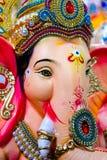印地安阁下Ganesh Sculpting Statue 免版税图库摄影