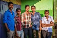 印地安青年 免版税库存照片