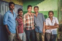 印地安青年 库存照片