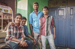印地安青年 库存图片