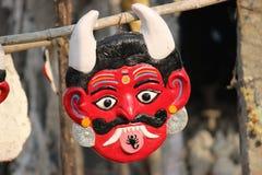 印地安面具 库存图片