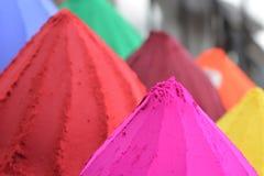 印地安颜色 免版税库存照片