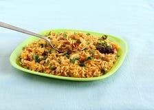 印地安食物罗望子树米 免版税库存照片