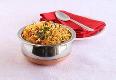 印地安食物罗望子树米 库存照片