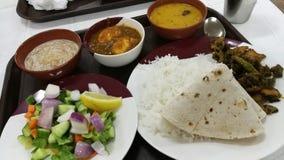 印地安食物菜 免版税库存图片