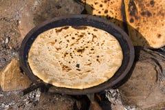 印地安食物-薄饼 图库摄影