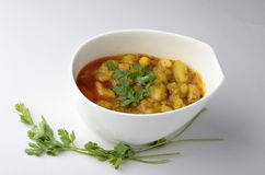 印地安食物 图库摄影