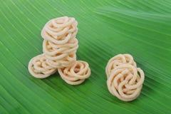 印地安食谱Murukku 免版税库存照片