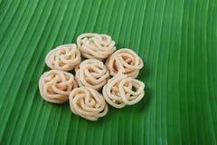 印地安食谱Murukku 库存图片