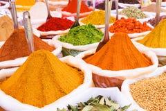 印地安香料 图库摄影