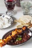 印地安鸡肉 免版税库存图片