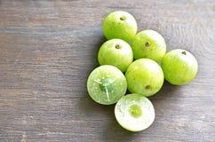 印地安鹅莓 库存图片