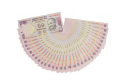 印地安货币 免版税库存照片