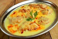印地安素食咖喱 免版税图库摄影