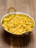 印地安素食圆白菜thoran 免版税库存图片