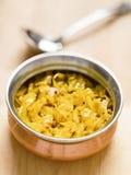 印地安素食圆白菜thoran 免版税图库摄影