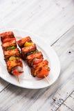 印地安paneer烤肉或tikka 库存照片