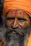 印地安sadhu (圣洁者) 库存图片