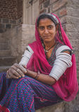 印地安tribeswoman 库存图片