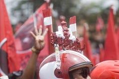 印尼民主斗争党外形 库存图片