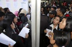印尼盾六年低下落 免版税库存图片