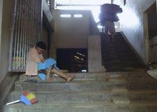 印尼盾六年低下落 图库摄影