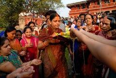 印度仪式 免版税库存图片