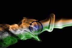 印度全国烟旗子 库存照片