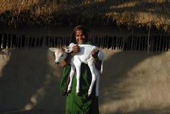 印度农村 免版税库存照片