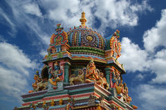 印度印度喀拉拉南寺庙 库存照片