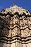 印度印度石寺庙udaipur 库存图片