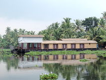 死水印度喀拉拉 免版税库存照片