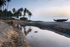 印度喀拉拉varkala 免版税库存照片