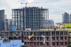 印度城市建设中 免版税库存照片