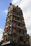 印度塔雕象 免版税库存图片