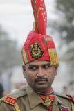 印度士兵 图库摄影