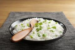 印度大米用香菜 库存图片