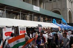 2015年印度天游行NYC第2部分17 免版税图库摄影