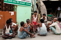 印度失业 库存照片