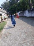 印度女孩秀丽  库存图片
