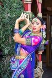 印度女孩 图库摄影