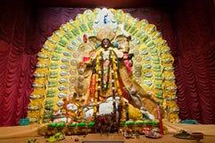 印度女神卡利市 免版税库存图片