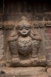 印度女神雕塑 免版税图库摄影